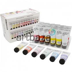 Набор художественных акриловых красок, 24 цвета по 22 мл., Art Rangers