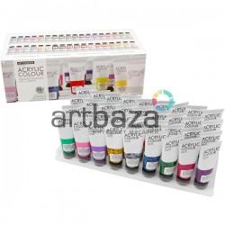 Набор художественных акриловых красок, 36 цветов по 22 мл., Art Rangers ● FEA3622 ● 6949905298393