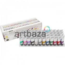 Набор художественных акриловых красок, 48 цветов по 22 мл., Art Rangers