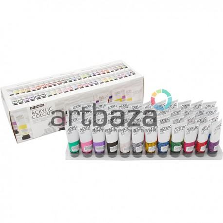 Набор художественных акриловых красок, 48 цветов по 22 мл., Art Rangers ● FEA4822-2 ● 6949905298294