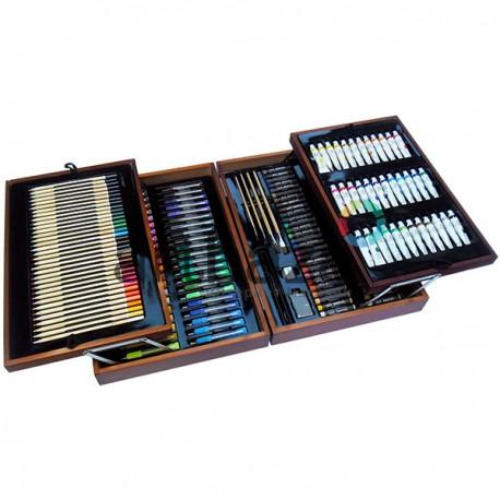 Художественный подарочный набор для рисования, 174 предмета, Malewicz
