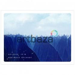 """Почтовые открытки для посткроссинга """"I love nature"""", 105 x 144 мм., 15 открыток ● Дешевые открытки для посткроссинга в Украине"""