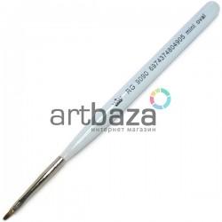 Кисть синтетическая Artdeco, mini oval, REGINA на короткой деревянной ручке ● Кисти для маникюра, росписи и дизайна ногтей