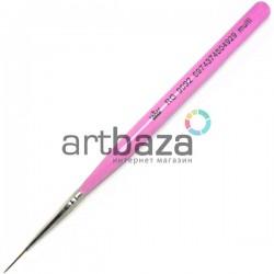 Кисть синтетическая Artdeco, multi, REGINA на короткой деревянной ручке ● Кисти для маникюра, росписи и дизайна ногтей