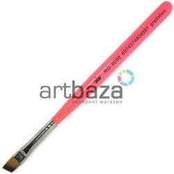 Кисть синтетическая Artdeco, gradation, REGINA на короткой деревянной ручке ● Кисти для макияжа, маникюра и дизайна ногтей