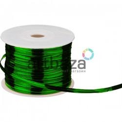 Упаковочная проволока в фольге, 4 мм., 65 м., зеленая, Twist Tie
