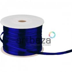 Упаковочная проволока в фольге, 4 мм., 65 м., синяя, Twist Tie