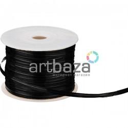 Упаковочная проволока в фольге, 4 мм., 65 м., черная, Twist Tie