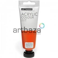 Краска акриловая художественная, Оранжевая неоновая / Neon Orange, 75 мл., Art Ranger