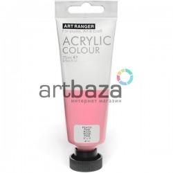 Краска акриловая художественная, Розовая / Pink, 75 мл., Art Ranger