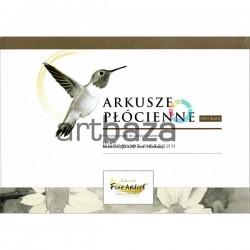 Альбом - склейка холстов для акриловых и масляных работ, 210 x 297 мм., 280 гр./м²., 10 листов, Fine Artist