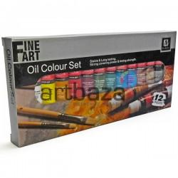 Набор художественных масляных красок, 12 цветов по 12 мл., Art Nation ● 7124-S ● 6949905231284