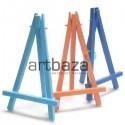 Мольберт - подставка пластиковый, сувенирный, декоративный, цветной