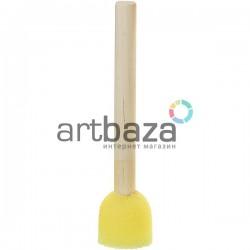 Кисть - губка (спонж) трафаретная, Ø20 мм., №2, CONDA