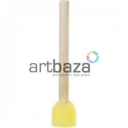 Кисть - губка (спонж) трафаретная, Ø15 мм., №1, CONDA