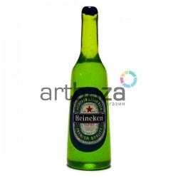 Миниатюра - имитация Heineken, 3.5 см., 3 штуки, Dollhouse