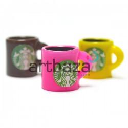 Миниатюра - имитация Starbucks, 1.2 см., 3 штуки, Dollhouse