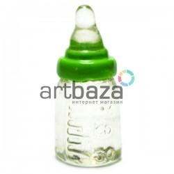 Миниатюра - имитация Бутылка с соской, 2.1 см., 3 штуки, Dollhouse