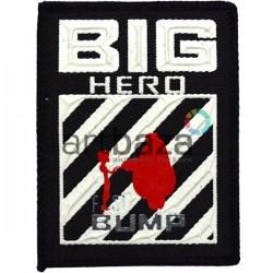 Нашивка - патч для одежды, Big Hero, 6.2 x 8 см.