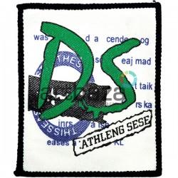 Нашивка - патч для одежды, DS, 7.6 x 9.3 см.