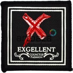 Нашивка - патч для одежды, Exgellent, 7 x 7 см.