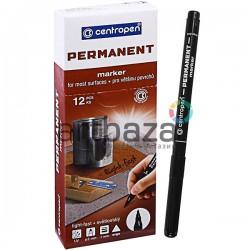 Маркер Permanent тонкий, черный, 1 мм., Centropen ● 2536 ● 8595013616291