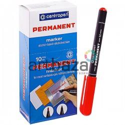 Маркер Permanent тонкий, красный, 1 мм., Centropen