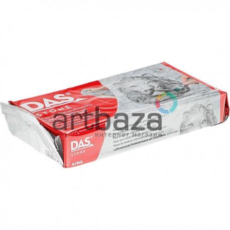 Глина (паста) для моделирования серая с эффектом камня, 1 кг., DAS ● F348200 ● 8000144007028