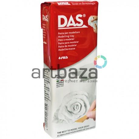 Глина (паста) для моделирования белая, 250 гр., DAS ● F348100 ● 8000144007004