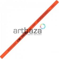 Карандаш - стеклограф для нанесения рисунка на стекло, фарфор, пластмассу, металл, красный, Koh-i-Noor