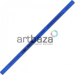 Карандаш - стеклограф для нанесения рисунка на стекло, фарфор, пластмассу, металл, синий, Koh-i-Noor