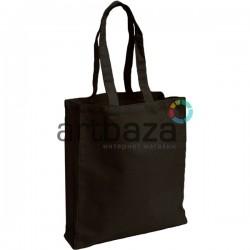 Эко - сумка шоппер, хлопковая с длинной ручкой, 37.5 x 41 x 9.5 см., REGINA Galant