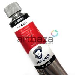 Краска художественная масляная, Красный средний / Azo red medium, 393, туба 200 мл., Van Gogh
