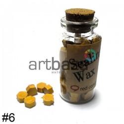 Сургуч декоративный золотой для печатей в таблетках, 60 - 70 штук | Сургуч в таблетках цветной купить в Украине