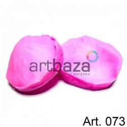 Силиконовый молд 3D (вайнер), лепесток розы 2 части, размер 3.2 х 3.8 см., толщина 2 см., REGINA
