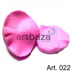 Силиконовый молд 3D (вайнер), лепесток тюльпана 2 части, размер 7 х 6 см., толщина 2 см., REGINA