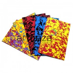 """Набор цветного фоамирана """"хаки"""" для флористики и декора, 2 мм., 20 x 30 см., 10 цветов"""