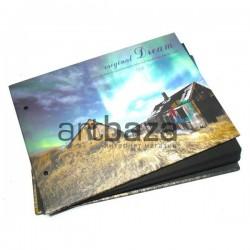 Альбом для скрапбукинга и фотографий с черными листами, original Dream, 21.5 х 15.5 см. ➤ 2154 ➤ 2000740227383