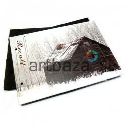 Альбом для скрапбукинга и фотографий с черными листами, Recall, 21.5 х 15.5 см. ➤ 2155 ➤ 2000082378385