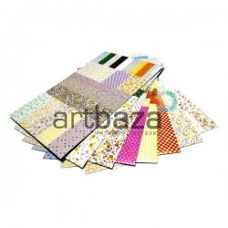 Набор тегов, стикеров (наклеек) высеченных для скрапбукинга на планшетке, размер 10 х 16.5 см., 8 листов