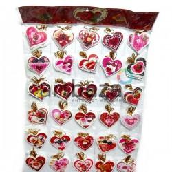 """Набор открыток """"I love you"""" для посткроссинга, украшения букетов и цветов, 70 х 60 мм., 240 открыток"""