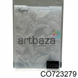 """Папка для тиснения эмбоссинг для скрапбукинга """"Magical"""", размер 10.5 х 14.3 см., Couture Creations"""