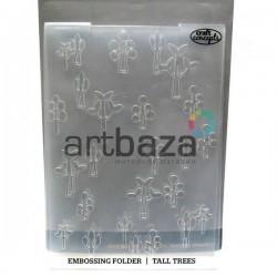 """Папка для тиснения эмбоссинг для скрапбукинга """"Tall Trees"""", размер 10.5 х 14.3 см., El Taller De Veronica"""