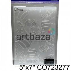 """Папка для тиснения эмбоссинг для скрапбукинга """"Dream"""", размер 11.8 х 17.5 см., Couture Creations"""