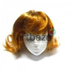 """Парик для куклы из искусственных волос """"рыжий"""", REGINA"""