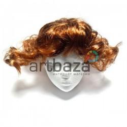 """Парик для куклы из искусственных волос """"бронза"""", REGINA"""