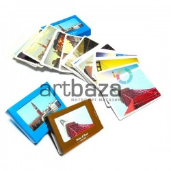 """Почтовые открытки для посткроссинга """"Urban & Rural"""", 80 х 58 мм., 30 открыток"""