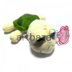 """Мягкая игрушка """"Черепаха с большими глазами"""" на присоске, K.K.toys"""