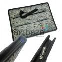 Портфель А3 тканевый, с ручками, карманом и ремнём через плечо, 36 х 50 см.