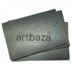 "Фетр для поделок и рукоделия ""Серый"", 2 мм., 20 х 30 см."